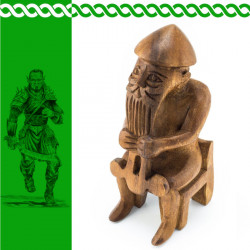 Holzfigur Thor